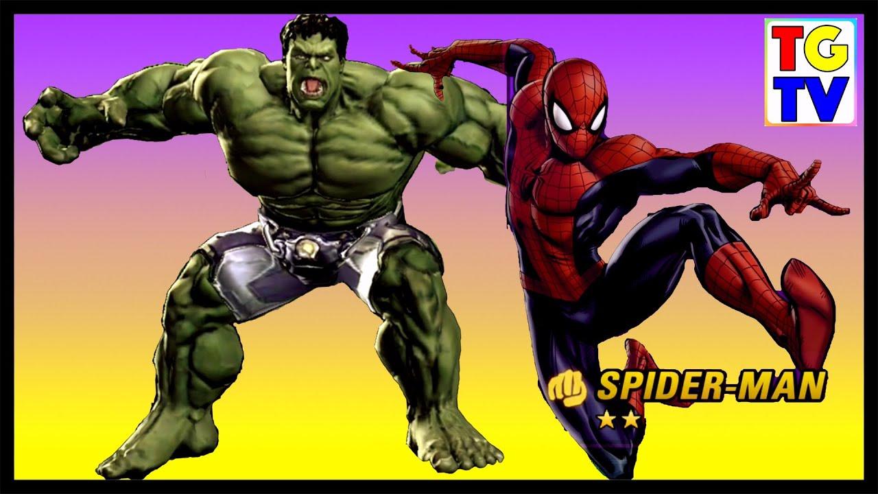 Marvel Avengers Alliance 2 Spiderman & Hulk - YouTube