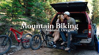 Oregon Mountain Biking iṡ INSANE! | Overlanding Life + How to Shower in the Outdoors