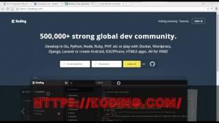 free vps/Vm hosting koding