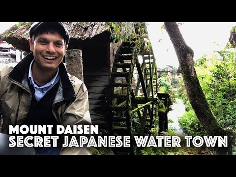 Secret Japanese Water Village | AMENOMANAI (Daisen, Tottori)
