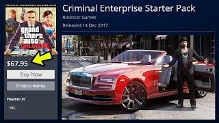 GTA 5 ONLINE NEW CRIMINAL ENTERPRISE STARTER PACK DLC! (GTA V)