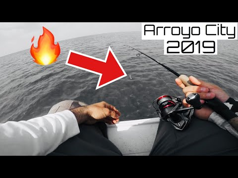 These A.M SOFT PLASTIC Lures Are ON FIRE!! Arroyo City Fishing 2019
