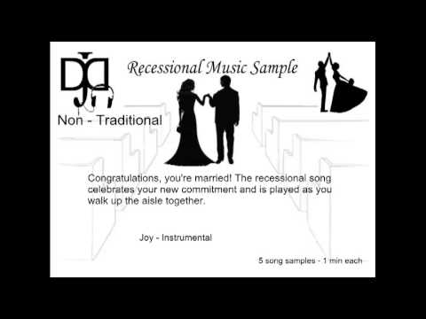 Non Traditional Wedding Music Recessional