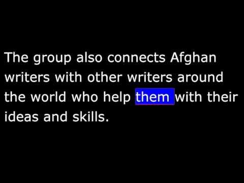 AS IT IS - Afghanistan - Womens Writing Group - Feb 3, 2013 - 20130203