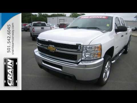 used 2012 chevrolet silverado 2500hd conway ar little rock ar 6gt8095a youtube. Black Bedroom Furniture Sets. Home Design Ideas