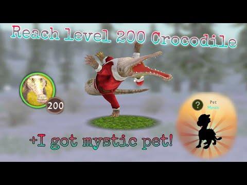 WildCraft: Reach Level 200 Crocodile + I Got A Mystic Pet!