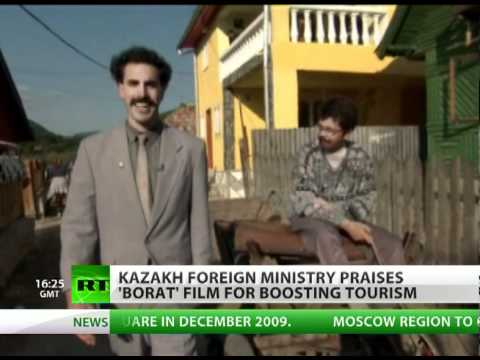 Kazakhstan changes mind on Borat