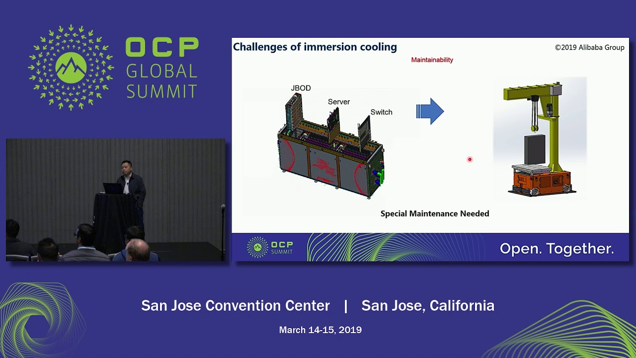 OCPSummit19 - EW: Advanced Cooling - A Large Scale Deployment Experience  Using Immersion Cooling