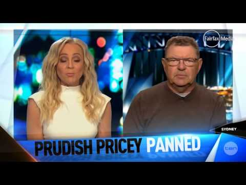 Steve Price v The Project hosts     01:36