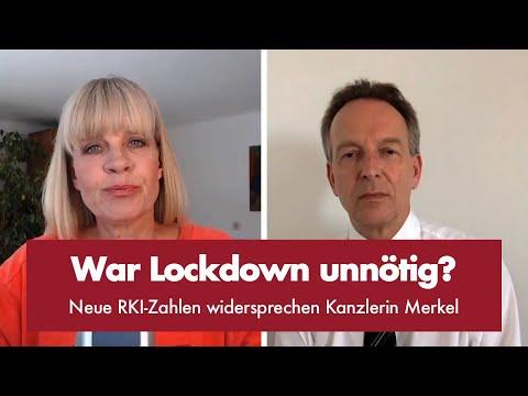 Neue RKI-Zahlen widersprechen Kanzlerin Merkel - Punkt.PRERADOVIC mit Prof. Dr. Stefan Homburg