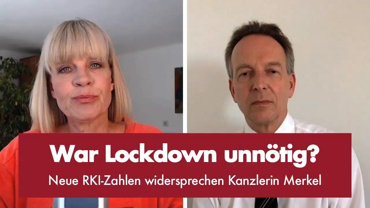 Neue RKI-Zahlen widersprechen Kanzlerin Merkel
