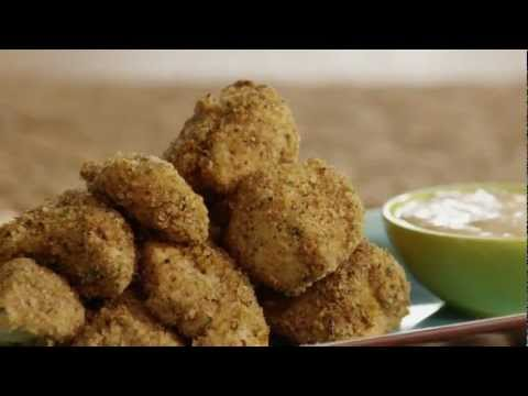How To Make Baked Herbed Chicken Nuggets | Chicken Nugget Recipe | Allrecipes.com