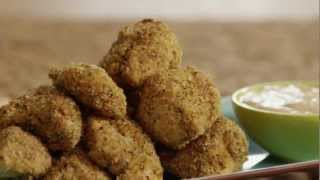 Baked Herbed Chicken Nuggets Recipe - How To Make Baked Herbed Chicken Nuggets