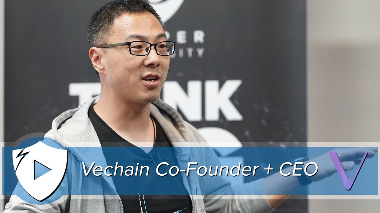 The Blockchain Paradigm Shift | Vechain Co-Founder & CEO, Sunny Lu ...