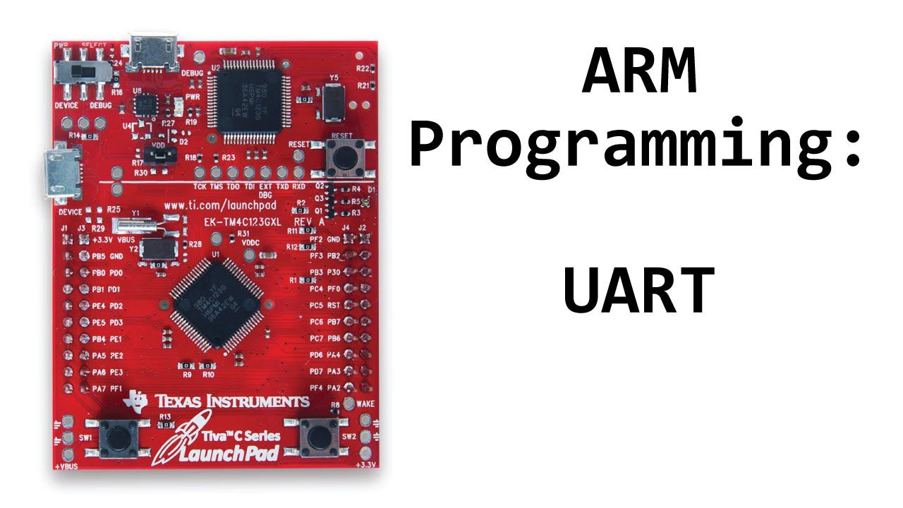 TM4C123 Tutorial: UART to PC Communication