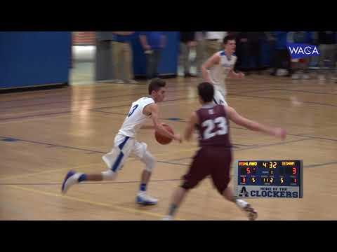 AHS Boys Basketball v Dedham 12-15-17