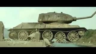 P51 против T34 (с русскими субтитрами)