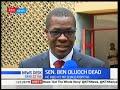 watch he video of The profile of Senator Ben Oluoch Okello