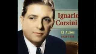 El adios - Ignacio Corsini.