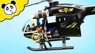 Playmobil Polizei - Rettung mit dem SEK Hubschrauber - Playmobil Film