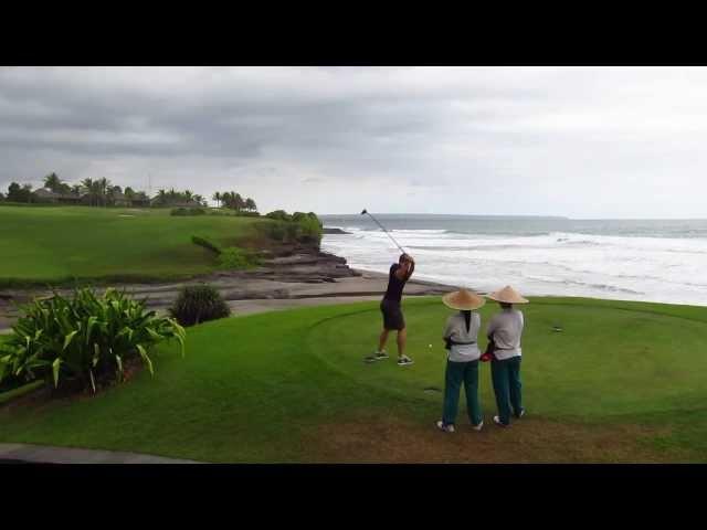 Nirwana Golf Course Bali   Location Rebel