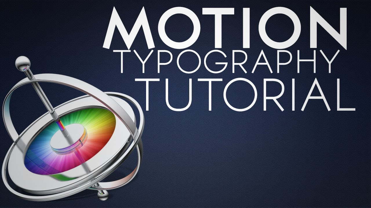 kentic typography in motion 5 basic tutorial youtube