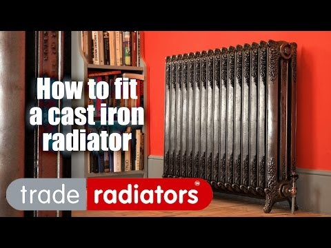 Cast Iron Radiators - How to Fit