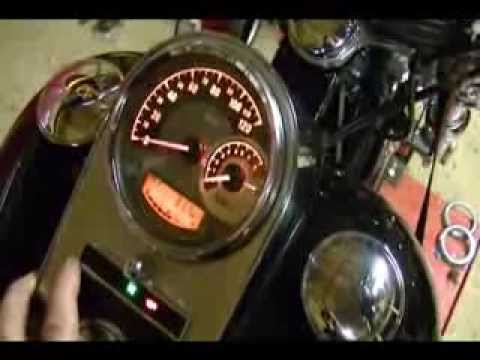 How to Remove & Replace the Sdometer on a 2009 Harley Davidson Softail Harley Sdometer Wiring Harness Diagram on