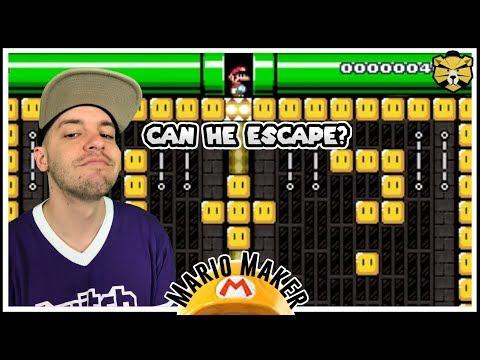 Download Youtube: Master Escape Artist At Work! Mario Maker