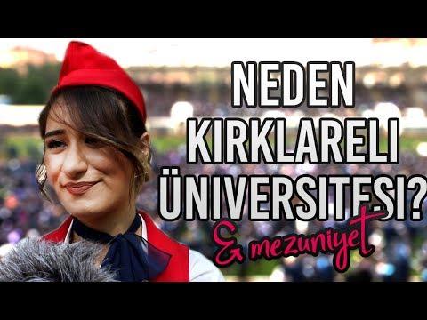 Neden Kırklareli ? | Kırklareli Üniversitesi Mezuniyet Röportajı #21