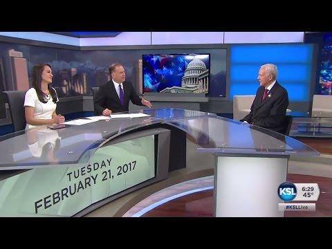 Utah Senator Orrin Hatch sits down in studio with Dave McCann and Ashley Moser