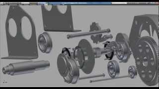 Лебедка ручная из видеокурса по Autodesk Inventor(Заказать полный видеокурс по Autodesk Inventor http://full.jedi.vertex.e-autopay.com., 2012-04-30T05:11:33.000Z)