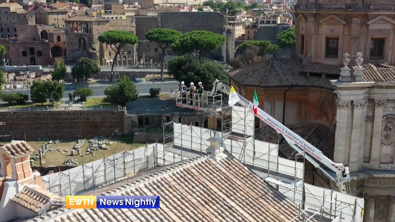 The Miracle of the Church of St. Joseph the Carpenter in Rome