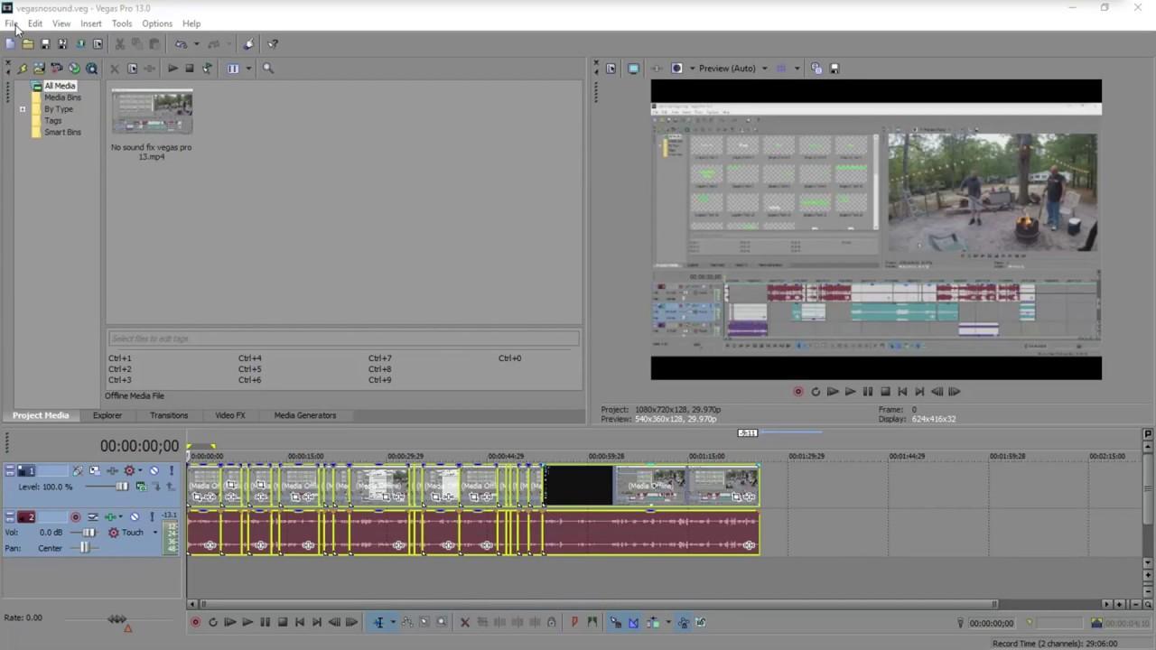vegas pro not rendering full video. Quick Fix!
