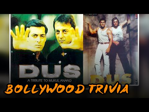 Why Salman Khan And Sanjay Dutt's DUS was Never Released? | Bollywood Trivia