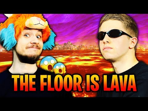 MON PREMIER TOP 1 AVEC MICHOU SUR LE NOUVEAU MODE THE FLOOR IS LAVA SUR FORTNITE !