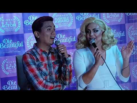 Die Beautiful star Paolo Ballesteros answers Catriona Gray's question in Miss World