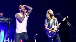 Maroon 5 - Maps live in Sydney at their sold out All Phones Arena show 29/09/15.