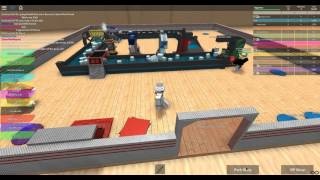[ROBLOX: Beach Factory Tycoon] - Lets Play w/ Friends Ep 1 - Completed Tycoon - Server VS Blue!