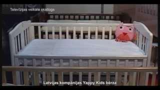 Yappy Kids, экологичные детские кроватки(Больше видео на нашем портале www.avideo.lv Когда в доме появляется малыш, для него все уже должно быть подготовл..., 2015-04-27T14:42:54.000Z)