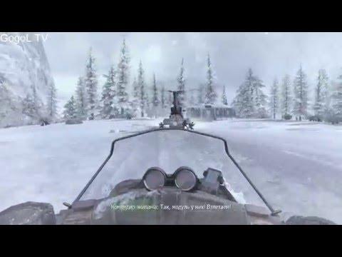 Call of Duty: Modern Warfare 2 Прохождение #2 гонки на снегоходах