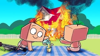 Minecraft | WHO'S YOUR DADDY - Psycho Baby Burns Down Neighborhood!