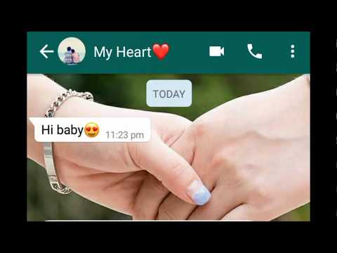 I Love You So Much / Most Heart Touching Chat Of Boy And Girl