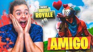 MI PRIMER AMIGO en Fortnite: Battle Royale! - TheGrefg