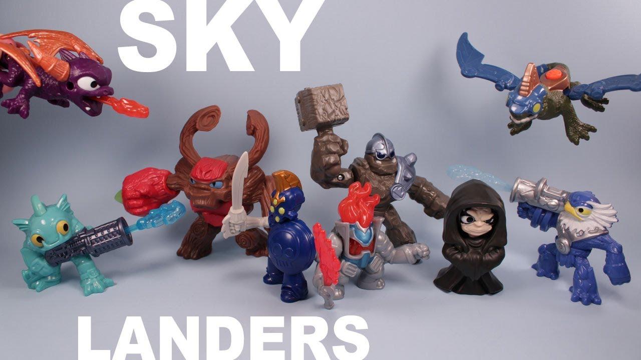 Mcdonalds Happy Meal Skylanders Giants Toys Complete