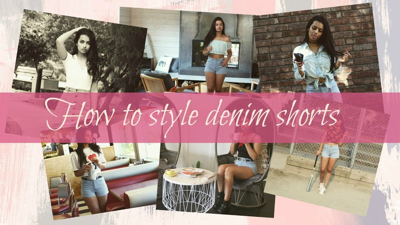 [VIDEO] - How to style denim shorts | Easy casual outfits | Summer  2017 | Nancy Bhullar 2