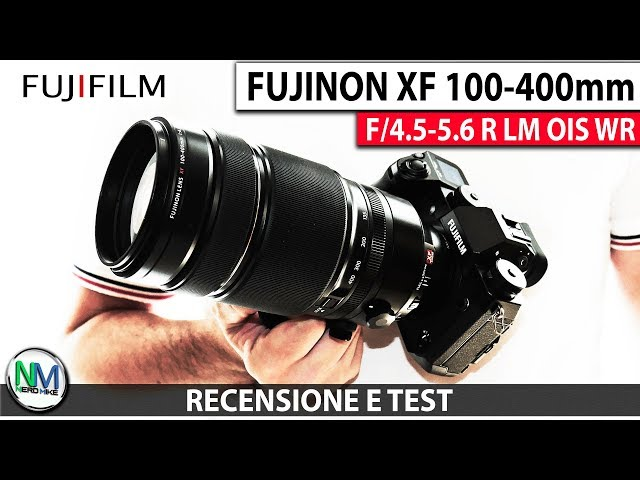 FUJIFILM 100-400mm: Super Zoom definitivo by FUJI - RECENSIONE e TEST