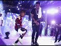 See The Little Agege Dance Guru Small Doctor Brought To Dance With Him While Performing On Stage