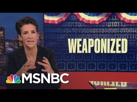 Russia Continues Info-War Tactics In US | Rachel Maddow | MSNBC