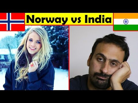 Life in India vs Norway Comparison